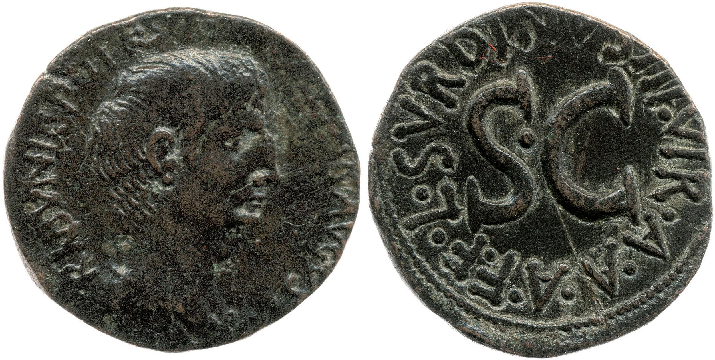 2129AU – As Auguste – L. Naevius Surdinus