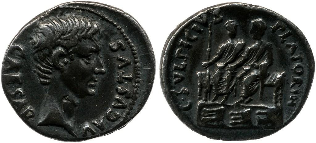Read more about the article 2146AU – Denier Auguste – Caius Sulpicius Platorinus
