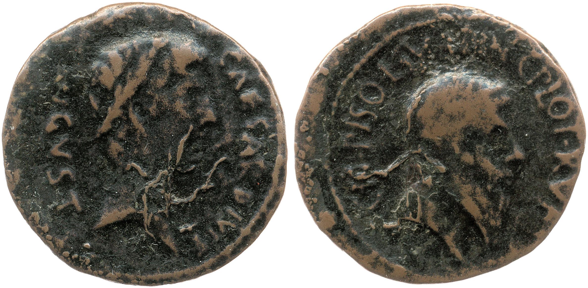 2133AU – As Auguste – Cnaeus Calpurnius Piso