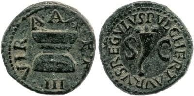 2163AU – Quadrans Auguste – Pulcher, Taurus et Regulus