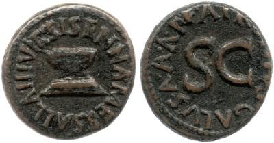 2199AU – Quadrans Auguste – Apronius, Galus, Messalla et Sisenna