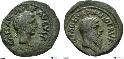 Read more about the article 2134AU – As Auguste – Cnaeus Calpurnius Piso