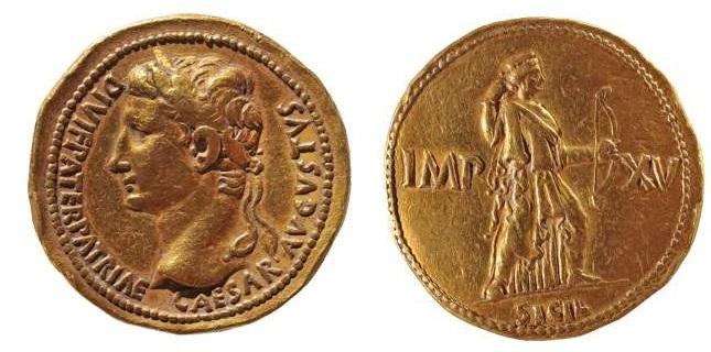 Read more about the article 2266AU – Médaillon de 4 auréii Auguste