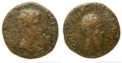 2136AU – As Auguste – Cnaeus Calpurnius Piso