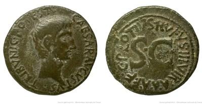 2132AU – As Auguste – C. Plotius Rufus
