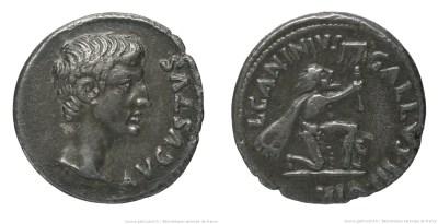 Read more about the article 2154AU – Denier Auguste – C. Caninius Gallus