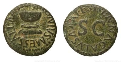 Read more about the article 2180AU – Quadrans Auguste – Apronius, Galus, Messalla et Sisenna
