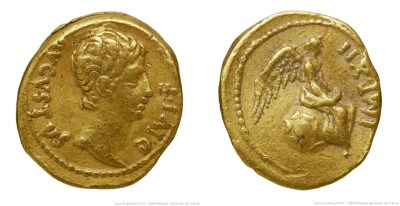 Read more about the article 2235AU – Quinaire d'Or Auguste
