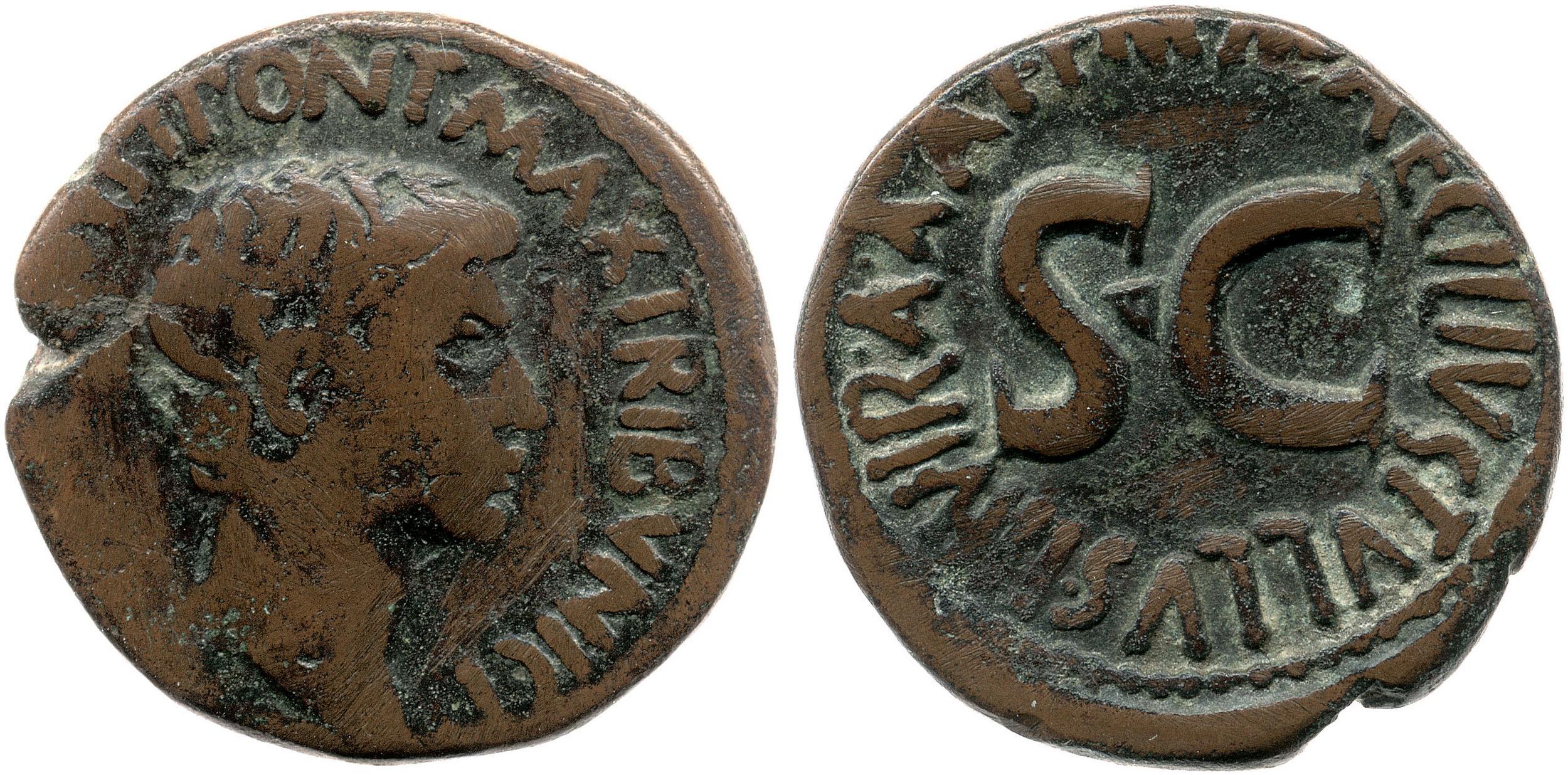 2171AU – As Auguste – M. Maecilius Tullus