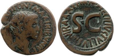 Read more about the article 2171AU – As Auguste – M. Maecilius Tullus