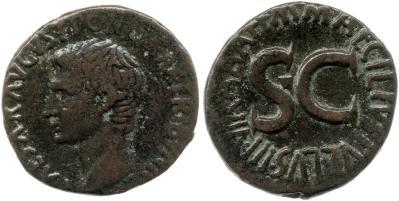 2172AU – As Auguste – M. Maecilius Tullus