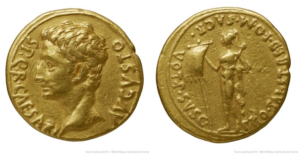 2431AU – Aureus Auguste