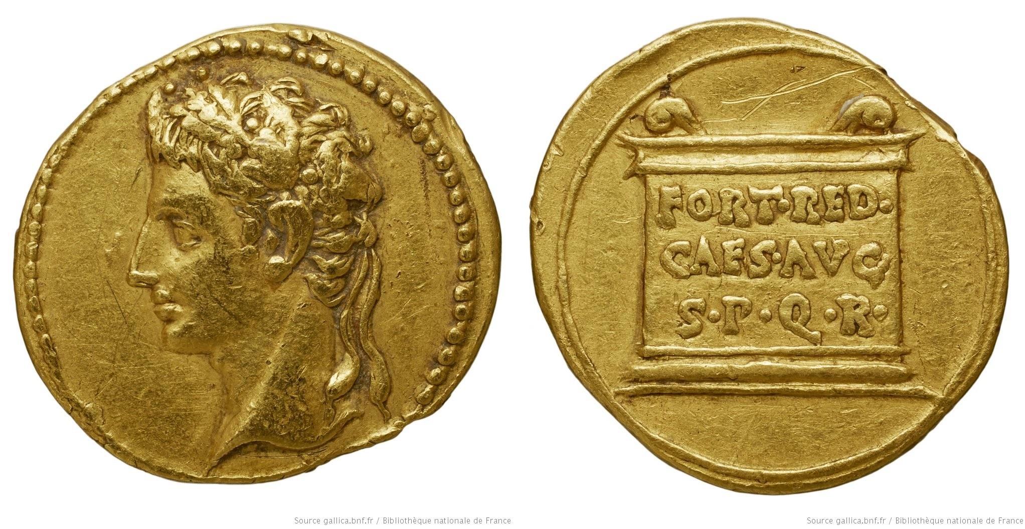 2316AU – Aureus Auguste