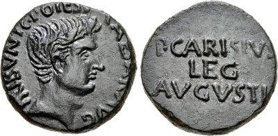 2460AU – As Auguste – P. Carisius