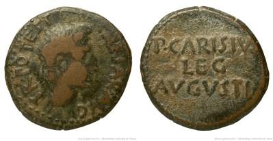 2455AU – As Auguste – P. Carisius