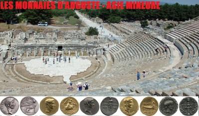 Les monnaies d'Auguste – Asie mineure