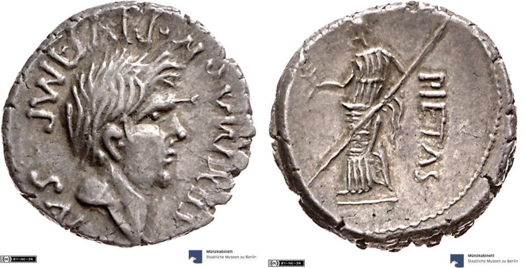 Read more about the article 1810PO – Denier Sextus Pompée