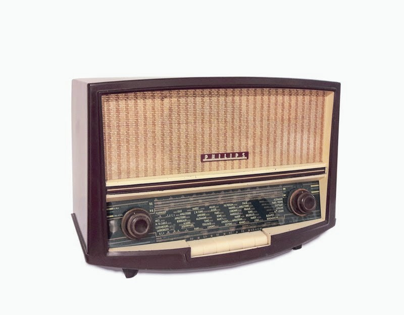 Philips BAF 60A radio vintage bluetooth LES DOYENS