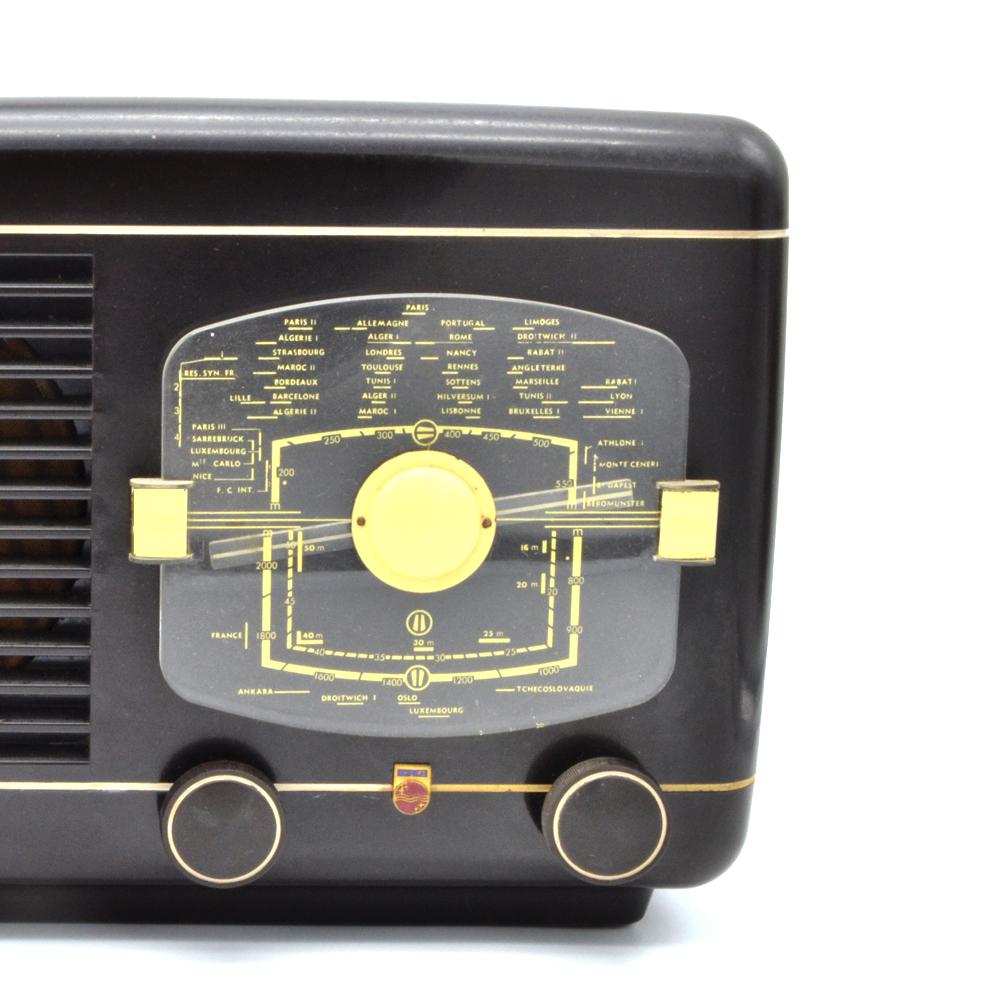 Philips BR 387 Poste radio TSF vintage bluetooth