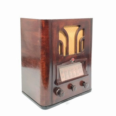 Philips-525 de 1935 : Poste radio vintage Bluetooth