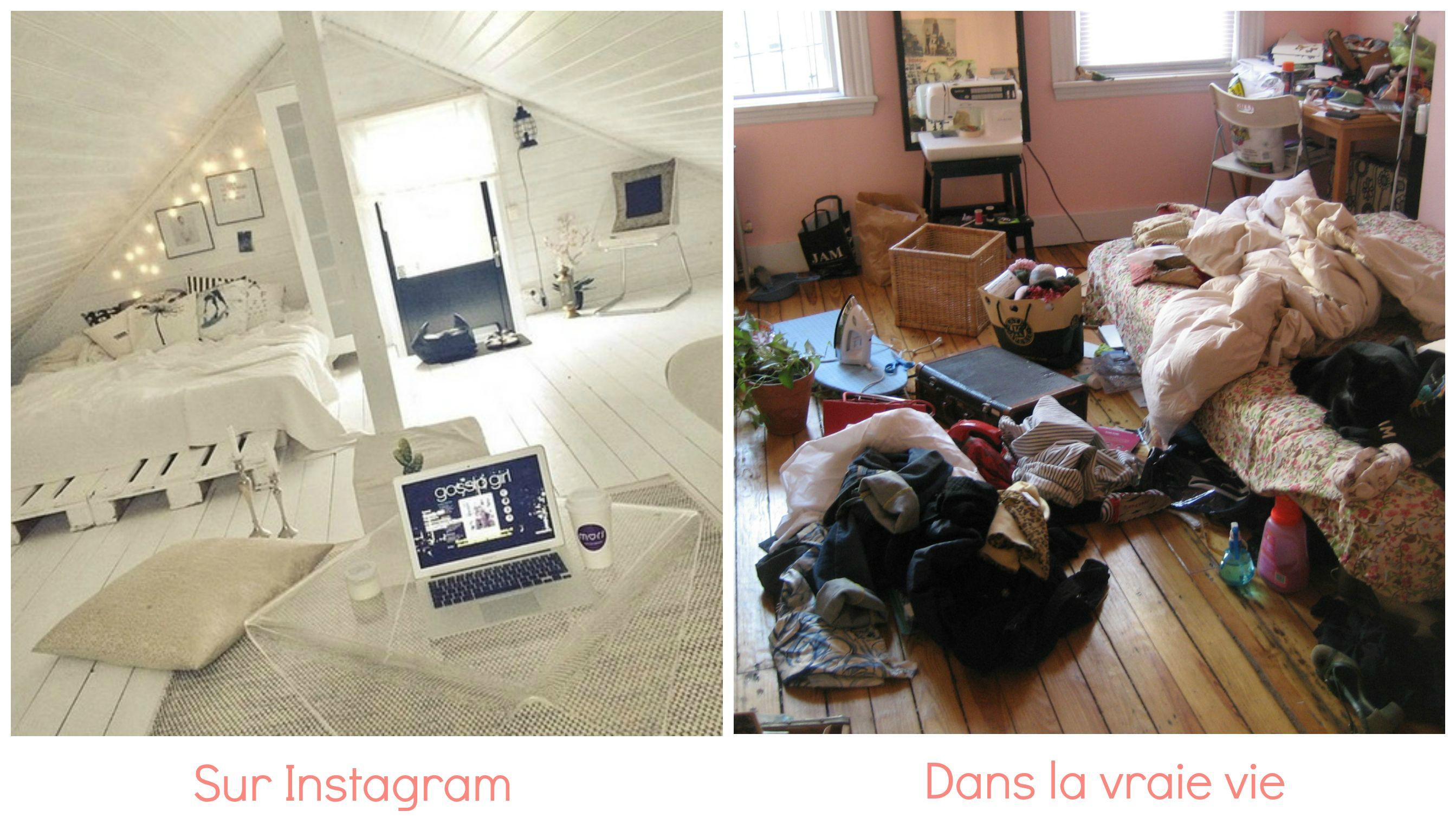 Une Journe Sur Instagram VS Une Journe Dans La Vraie Vie