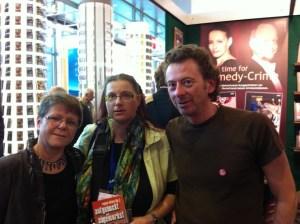 Regina Schleheck, Guuido M. Breuer und ich. Bild mit Genehmigung beider Autoren