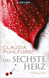 Das sechste Herz von Claudia Puhlfürst, Cover mit freundlicher Genehmigung von blanvalet