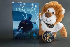 Die Tiefsee - Expedition von Wolfgang Bellaire, Cover mit freundlicher Genehmigung von Nordfriesicher Kinderbuch Verlag