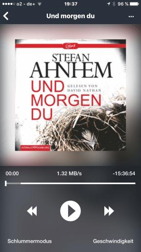 """[via audioteka] """"Und morgen du"""" von Stefan Ahnhem - Cover mit freundlicher Genehmigung von Hörbuch Hamburg"""