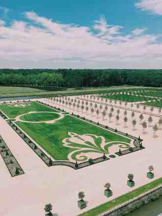 Jardin à la française de Chambord