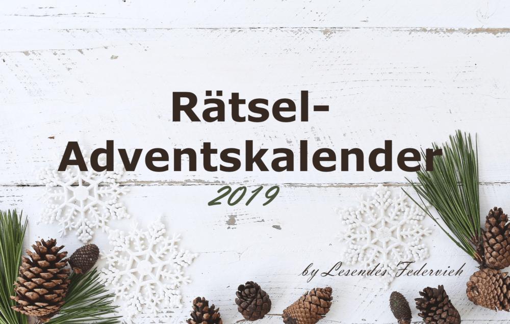Rätsel-Adventskalender 2019