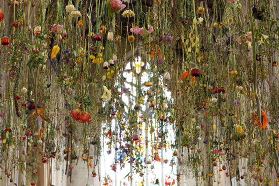 Rebecca Louis Law Hanging Flowers