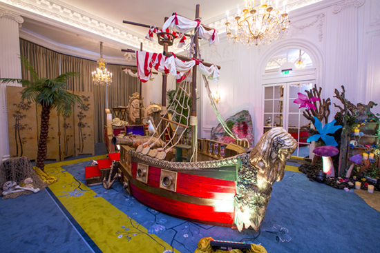 Mandarin Oriental Pirate Ship
