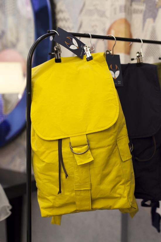 Alegre Media Yellow Baby Bag