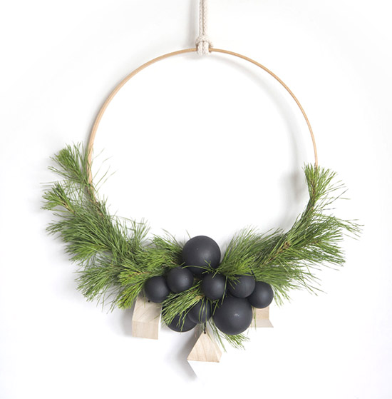 Scandi DIY WREATH
