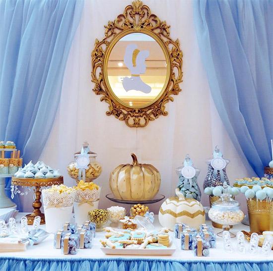 Cinderella Sweetie Table