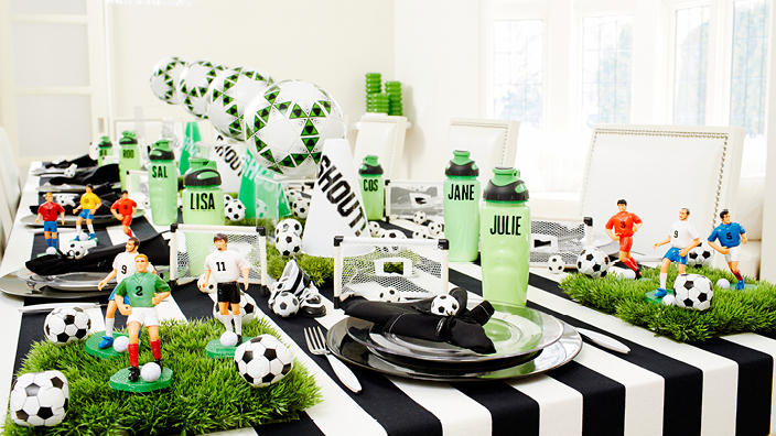 soccer themed party ideas for children