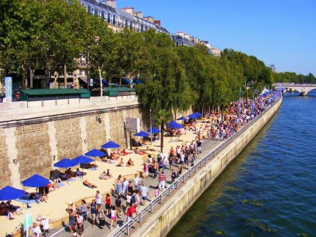 Image result for paris plage