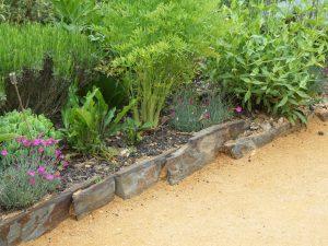 les bordures de jardin unep