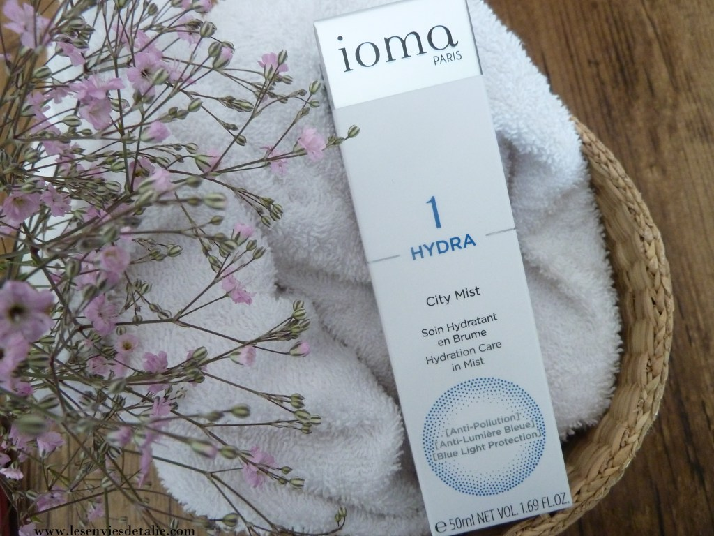 Packaging du Soin hydratant City Mist Hydra Ioma