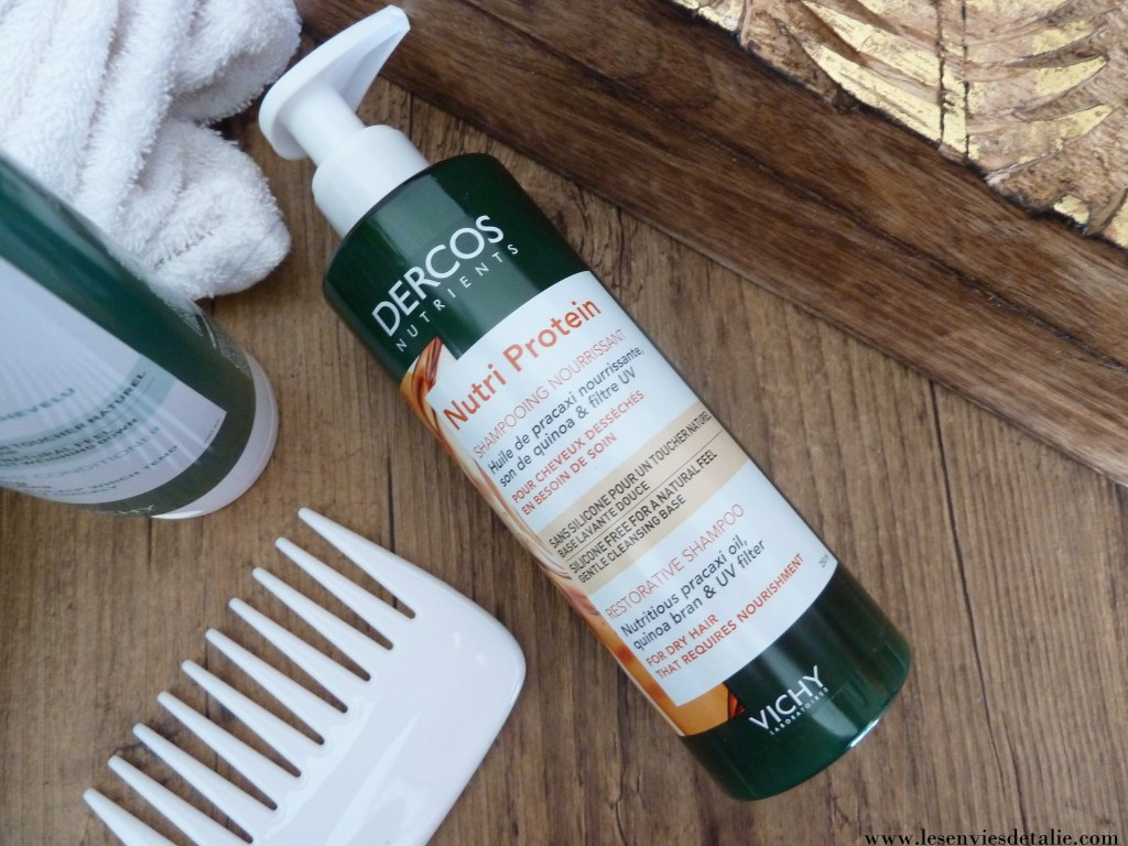 Shampooing nourrissant Nutri Protein Dercos Nutrients Vichy
