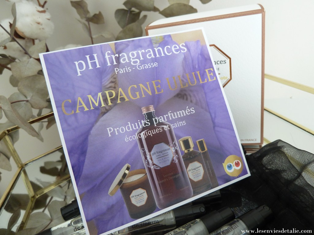 campagne ulule pH fragrances