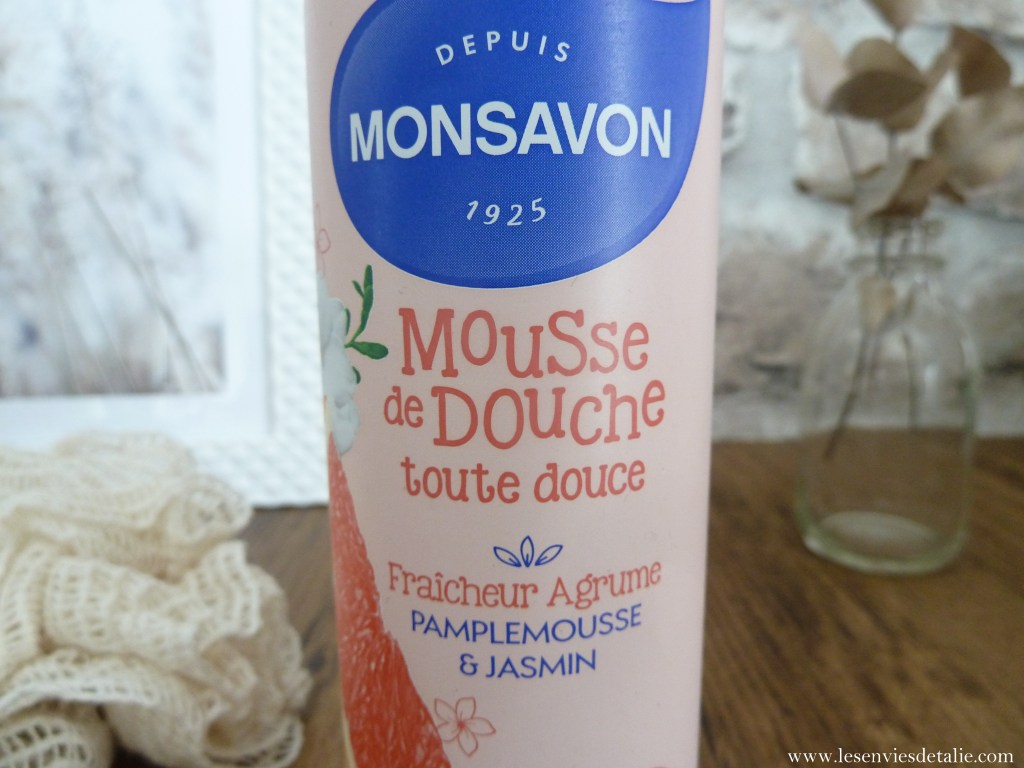 Mousse de douche Monsavon parfum