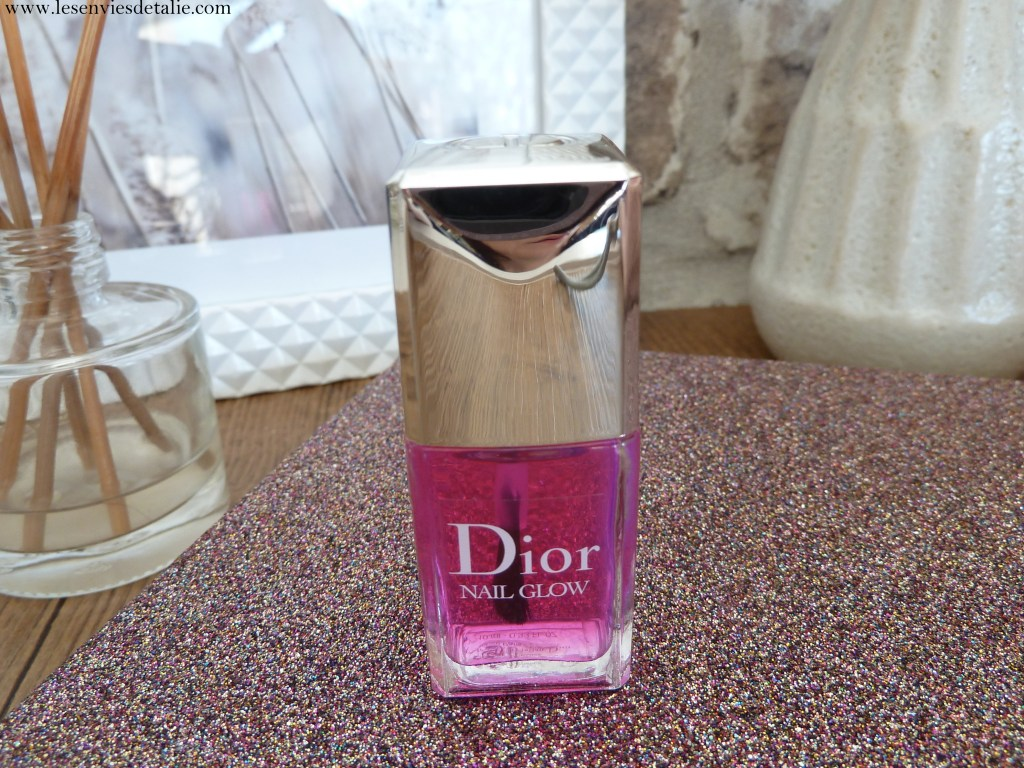 Packaging du Nail Glow Dior Backstage