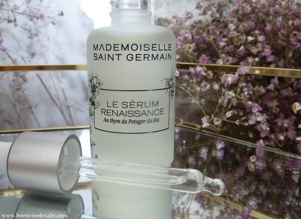 Packaging du Mademoiselle Saint Germain