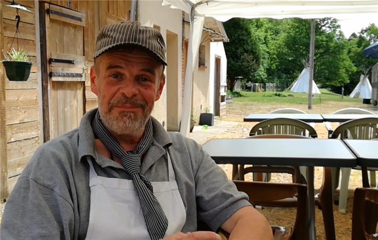 Jerôme Duval restaurateur engagé et coeur sur la main