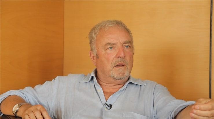 Edouard Chaulet maire de Barjac engagé jusqu'au bout des ongles