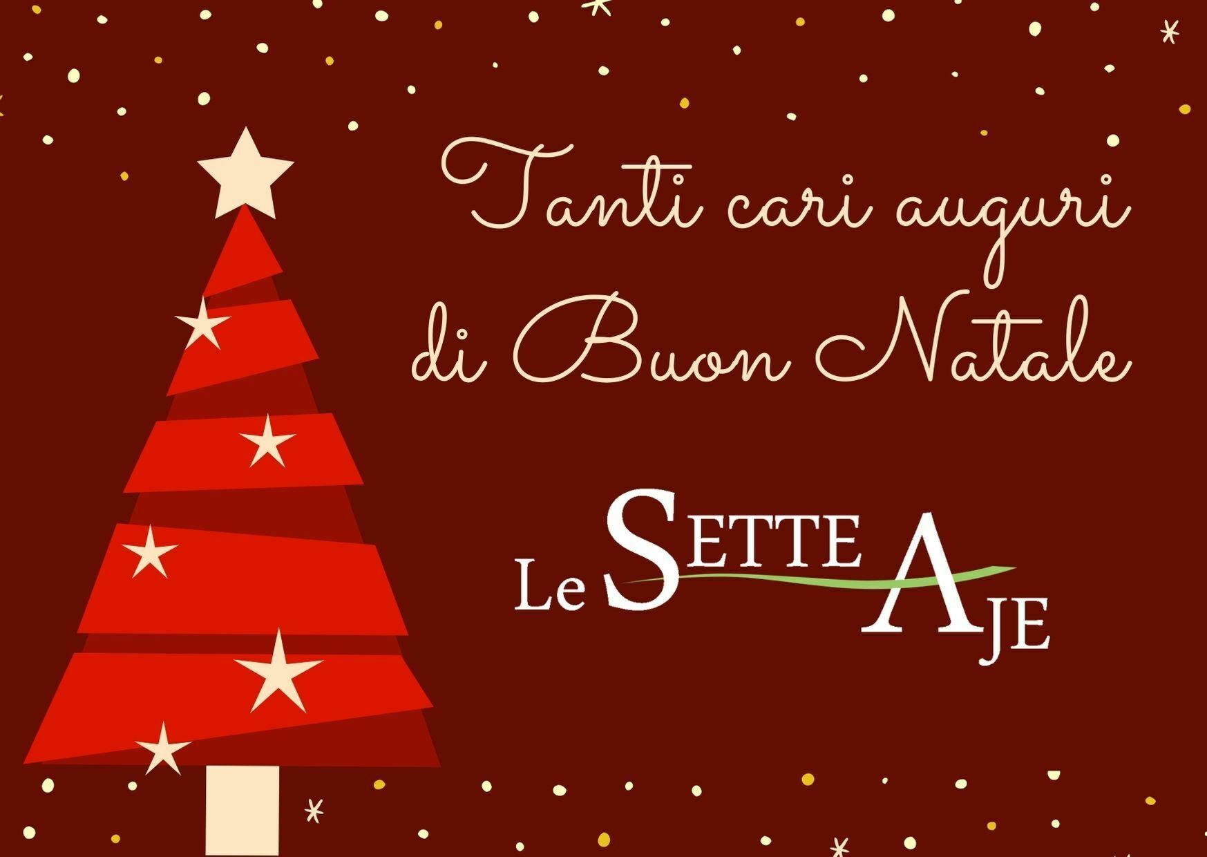 Buon Natale Le Sette Aje