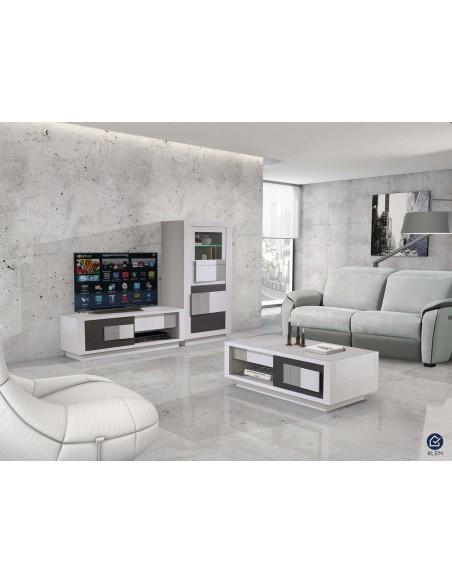 cologne meuble tv une porte coulissante