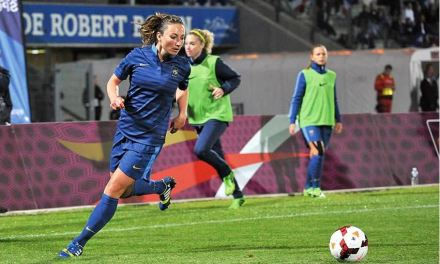 France – Chine. Match amical. Il est certain qu'on aura à l'esprit l'absence de Gaetane Thiney.